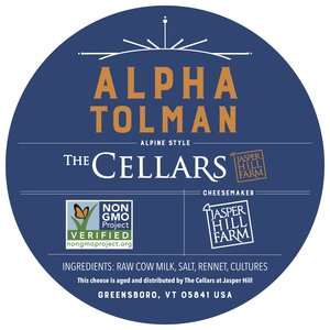 Alpha Tolman Label