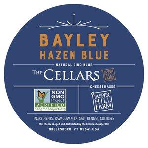 Etiqueta Bayley Hazen Blue