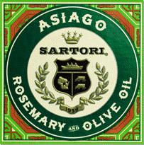 Etiqueta Asiago con Romero